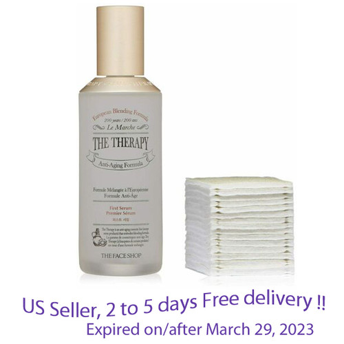 The Face Shop The Therapy First Serum 130mL + Free Gift Sample !!