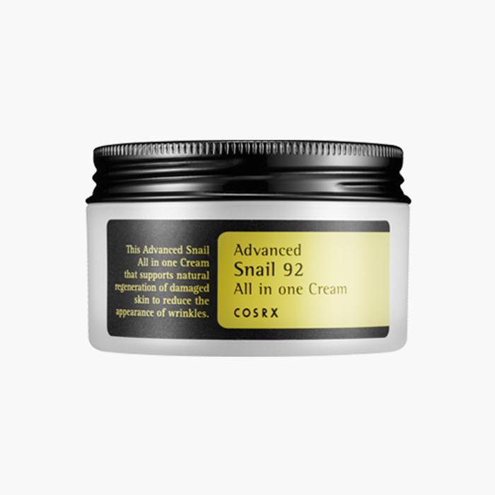 COSRx Advanced Snail 92 All in one cream 100ml  + Free sample !!