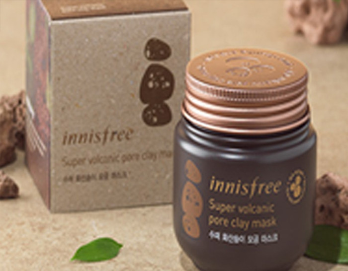 INNISFREE SUPER VOLCANIC PORE CLAY MASK 100 ml  + Free Gift Sample !!