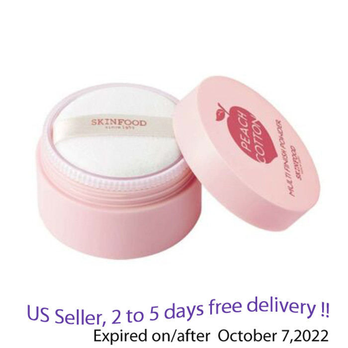 SKINFOOD Peach Cotton Multi Finish Powder 15 g 2+ Free Gift Sample !!