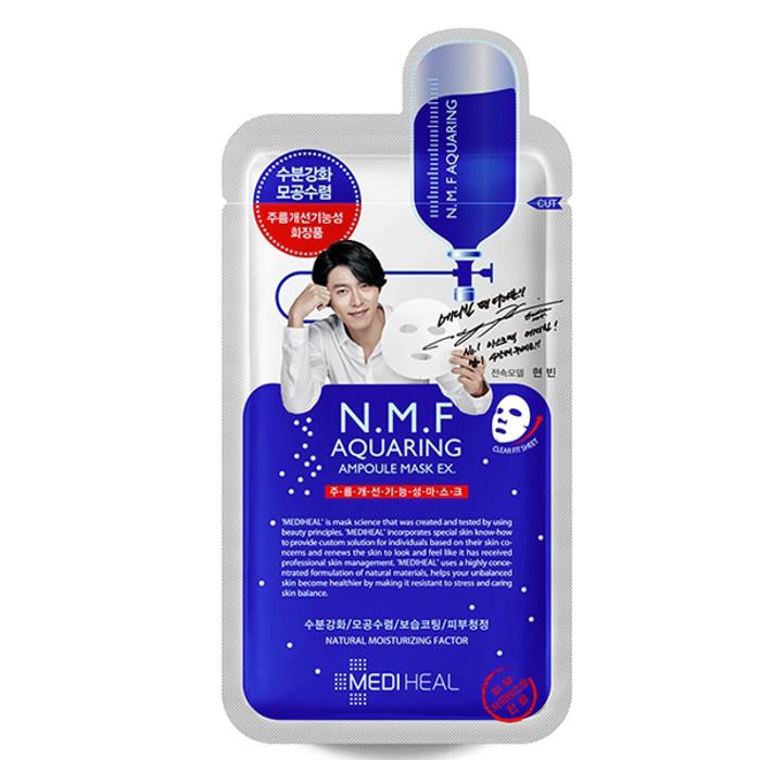 Mediheal N.M.F Aquaring Ampoule Mask EX * 10ea + Sample !!