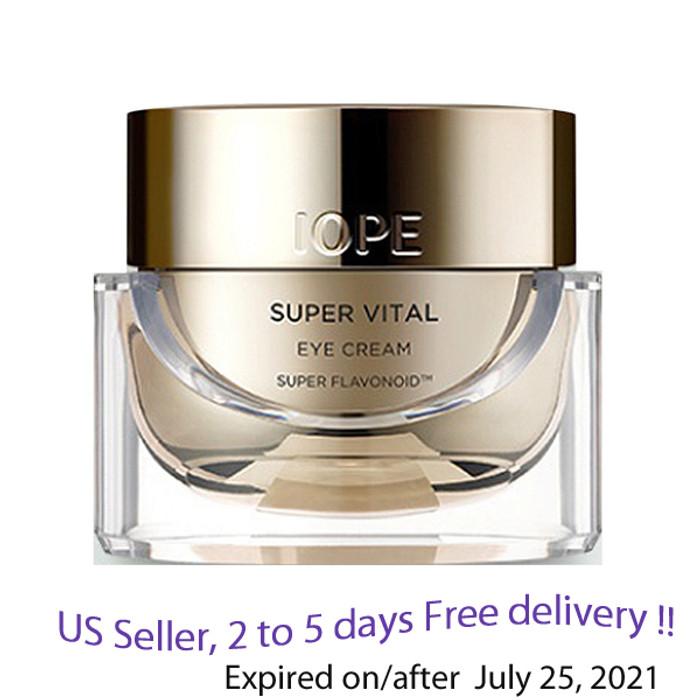 IOPE Super Vital Eye Cream  25 ml + Free Sample !!