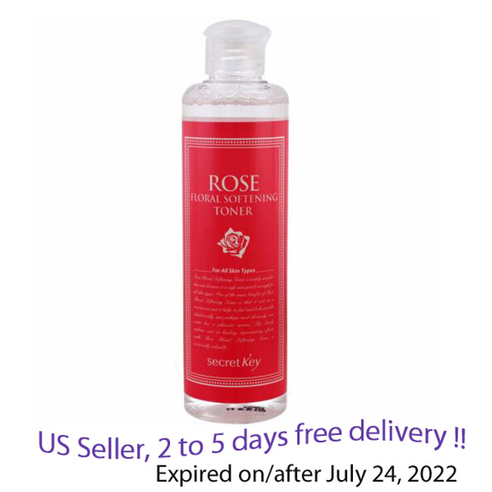 Secret Key Floral Softening Toner 248m+ Free Sample !!