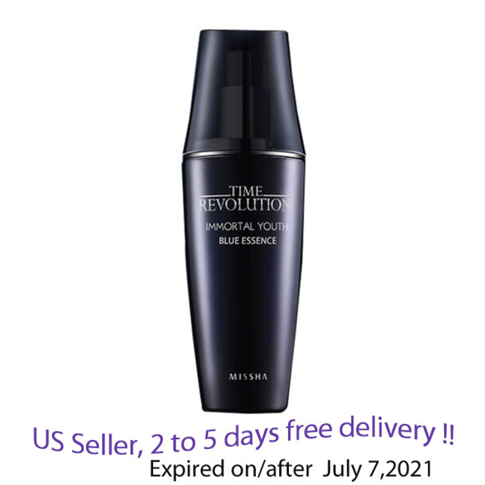 MISSHA Time Revolution Immortal Youth Blue Essence 80ml + Free Sample!