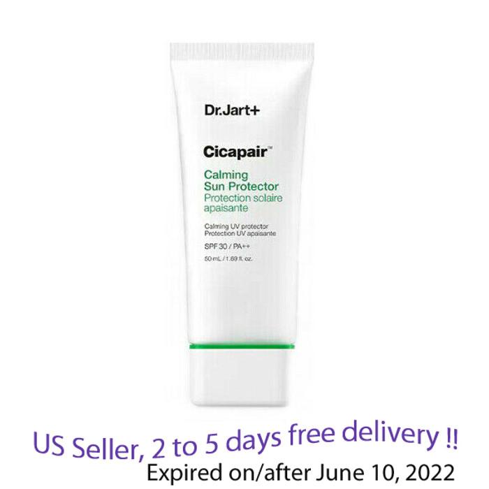 Dr.Jart+ Cicapair Calming Sun Protector 50 ml + Free Sample !!