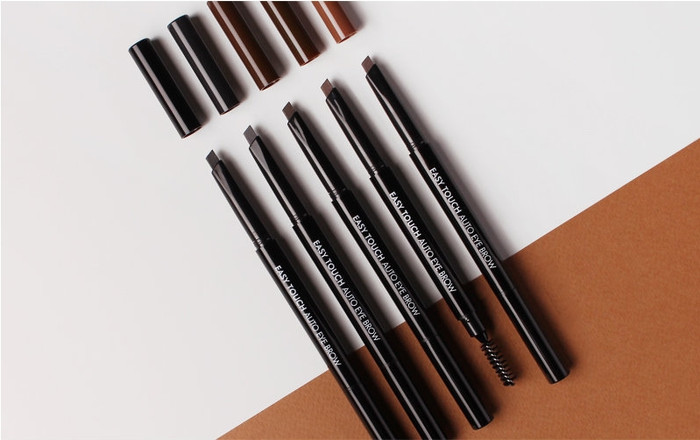 TONYMOLY Easy Touch Auto Eye Brow 5 colors option + Free Gift Sample !!