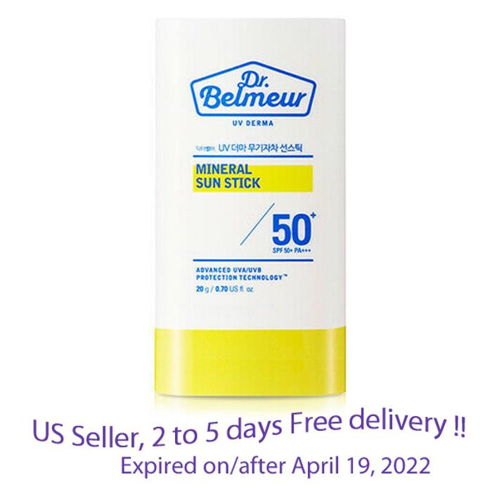The Face Shop Dr. Belmeur Mineral Sun Stick SPF 50 PA+++ 20 g + Free Gift Sample !!