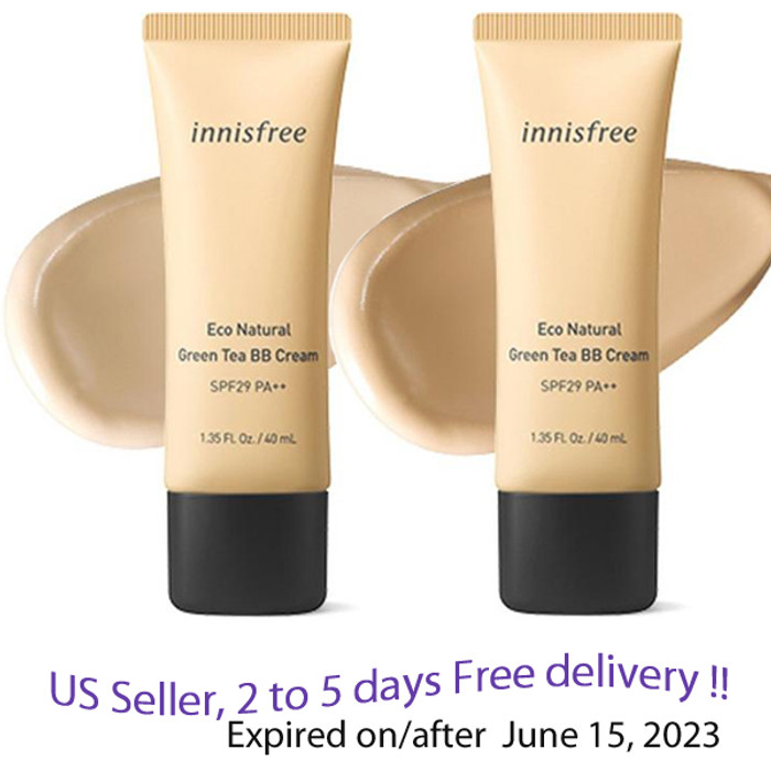 Innisfree Eco Natural Green Tea BB Cream SPF 29 PA++   + Free Gift Sample !!