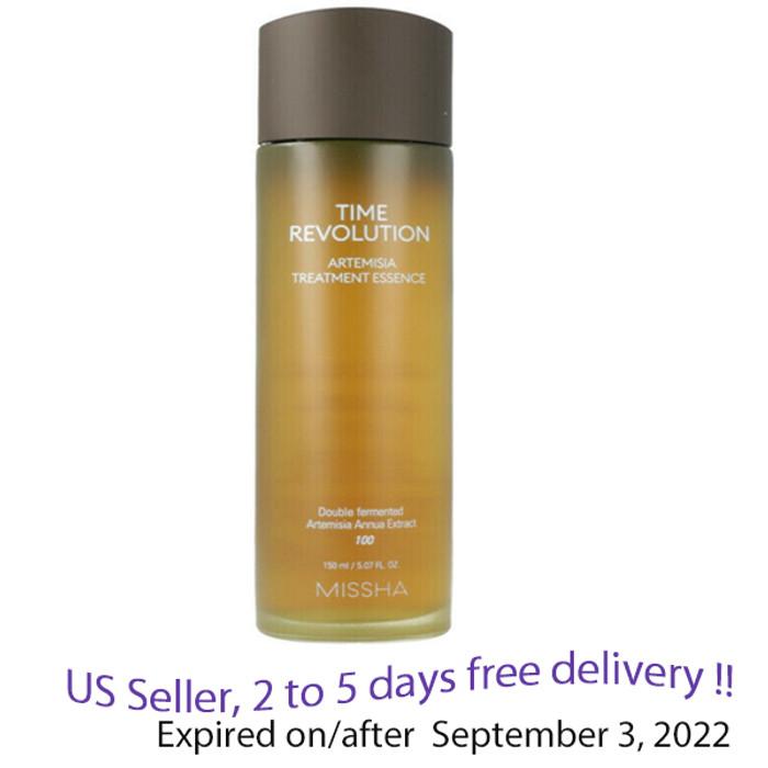 MISSHA Time Revolution Artemisia Treatment Essence, 150ml + Free Sample!!