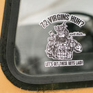 72 Virgins Sticker