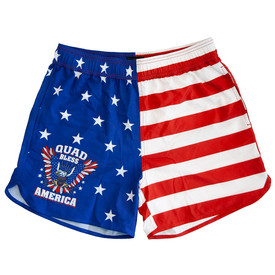 Quad Bless America Performance Shorts