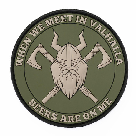 Valhalla Beers Patch