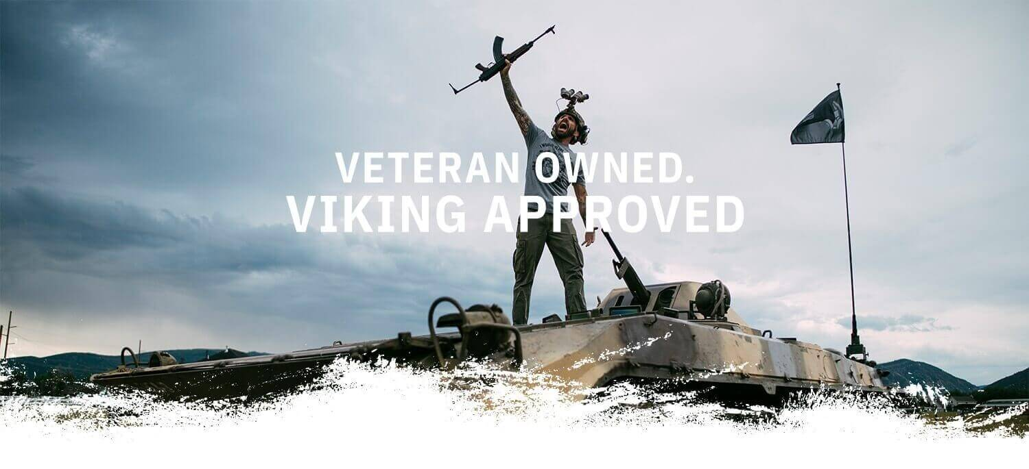 Veteran Owned Viking Approved