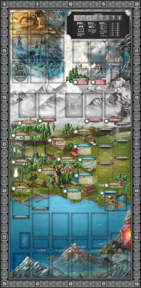 Champions of Midgard - Game Mat