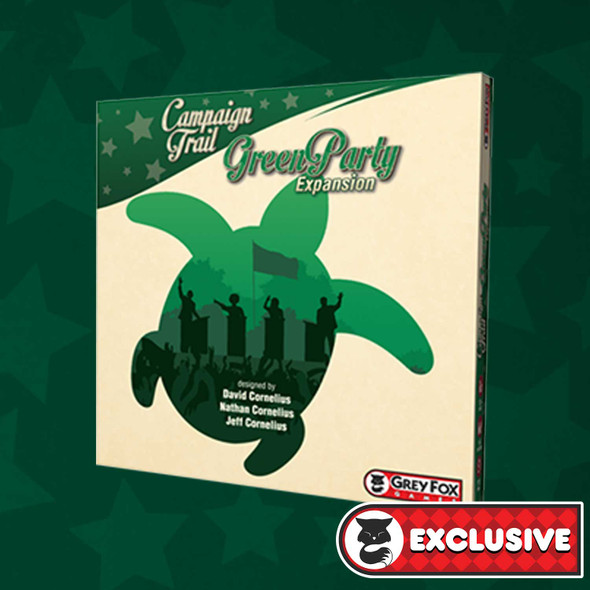PREORDER - Campaign Trail Green Party Expansion Deluxe Edition