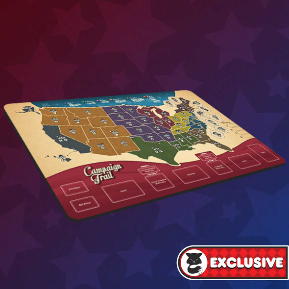 PREORDER - Campaign Trail Playmat