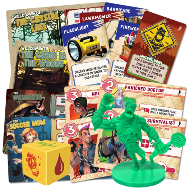 Run Fight or Die: Reloaded Kickstarter Upgrade Pack