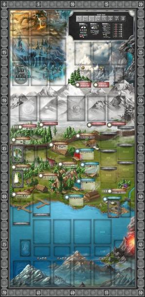 Champions of Midgard - Game Mat