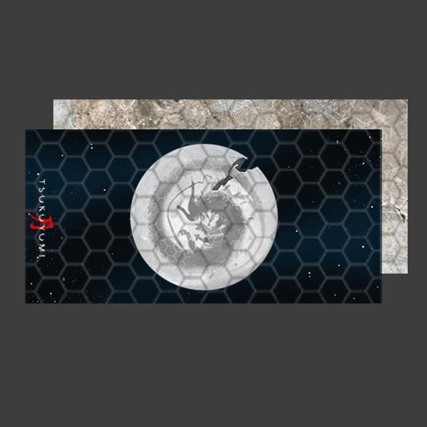 PREORDER - Tsukuyumi: Full Moon Down Playmat