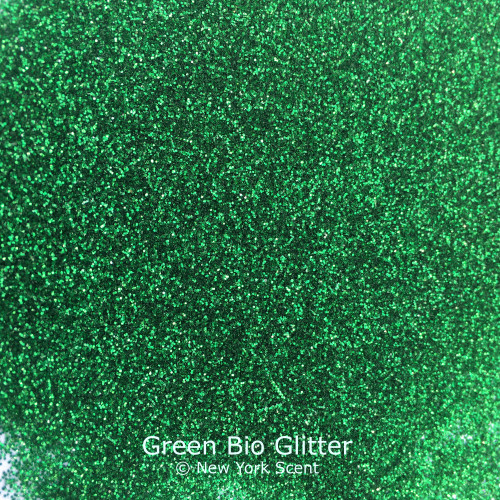 Green cosmetic Bio Glitter from New York Scent
