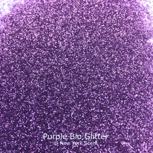 Purple cosmetic Bio Glitter from New York Scent
