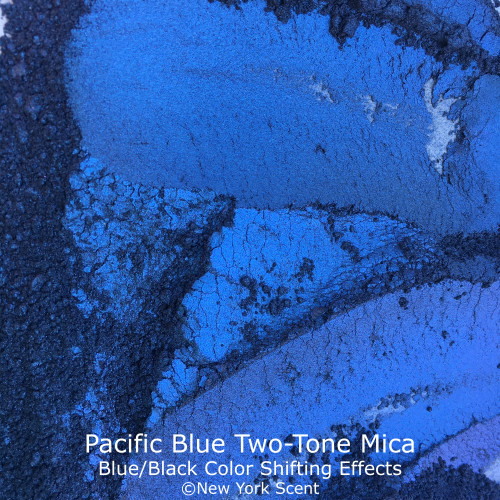 Pacific Blue Mica Colorant with Color Shifting Effects from New York Scent