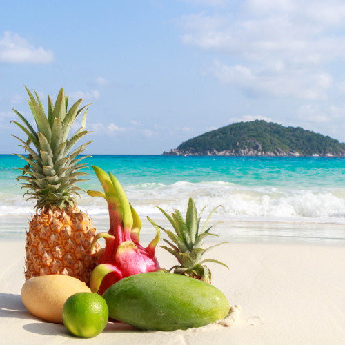 Bora Bora tropical fragrance oil for making soap, candles, incense, lotion and more from New York Scent