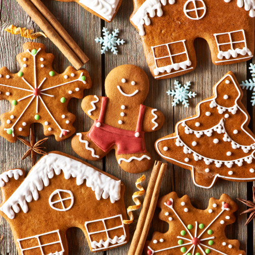 Spiced Gingerbread Swirl (BBW type) fragrance oil for soap and candle making from New York Scent