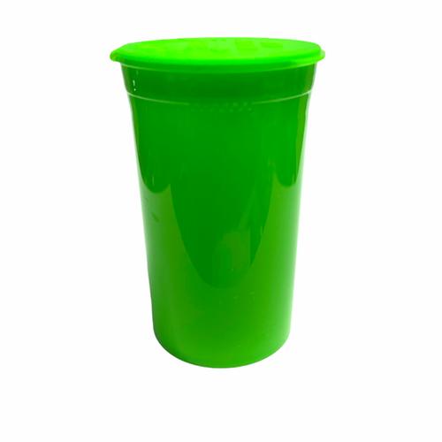 Green Pop Top Bottle / Vial - 19 Dram