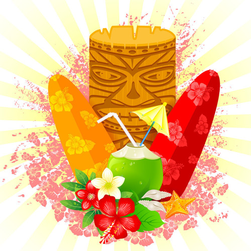 Tiki Beach (BBW Type) Fragrance Oil for Candle and Soap Manufacturing from New York Scent