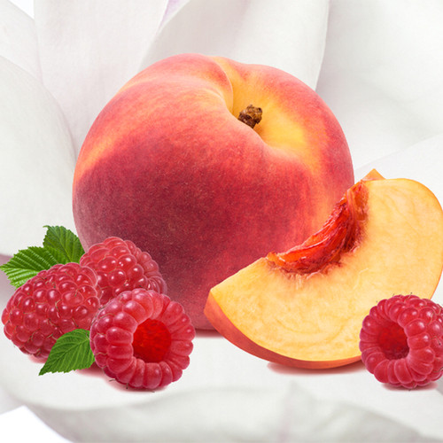Peach Magnolia Raspberry fragrance oil for soap and candle making, from New York Scent.