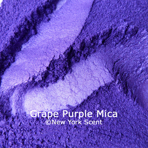 Purple Mica Powder Colorant from New York Scent