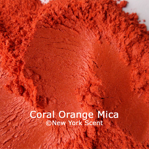 Coral Orange Mica Powder from New York Scent
