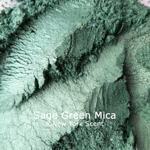 Sage Green mica powder color from New York Scent