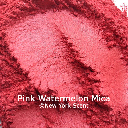 Pink Watermelon mica powder from New York Scent