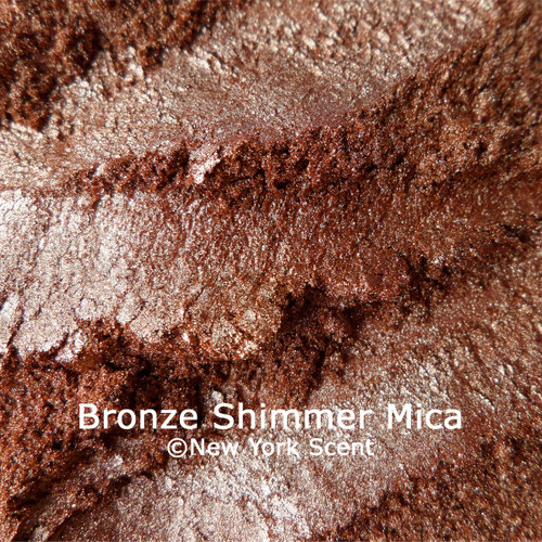 Bronze Shimmer mica powder colorant from New York Scent