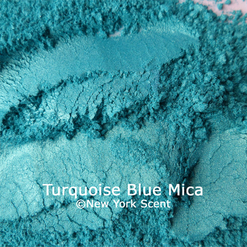 Turquoise Blue Mica Powder Colorant from New York Scent (2)