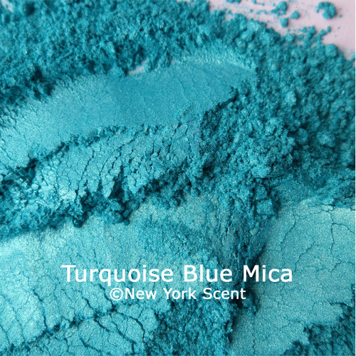 Turquoise Blue Mica Powder Colorant from New York Scent