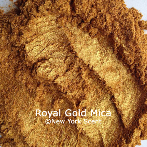 Royal Gold mica powder from New York Scent