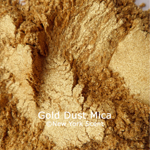 Gold Dust mica powder from New York Scent