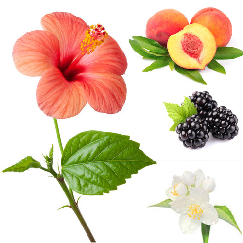 Green Hibiscus & Peach fragrance oil from New York Scent. For candles and soap making. Skin Safe
