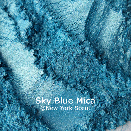 Sky Blue Mica Powder Colorant from New York Scent