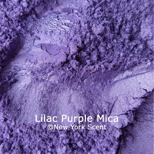 Lilac Purple Mica Powder Colorant from New York Scent
