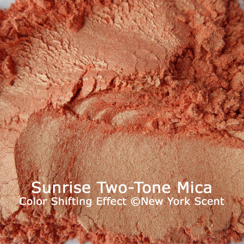 """Sunrise"" Two-Tone Mica Powder Colorant from New York Scent"