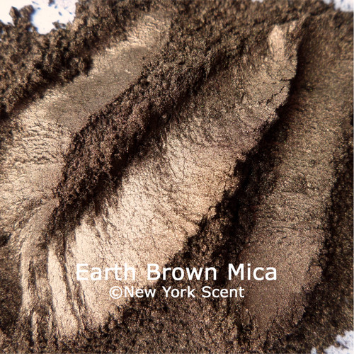Earth Brown Mica Powder Colorant from New York Scent