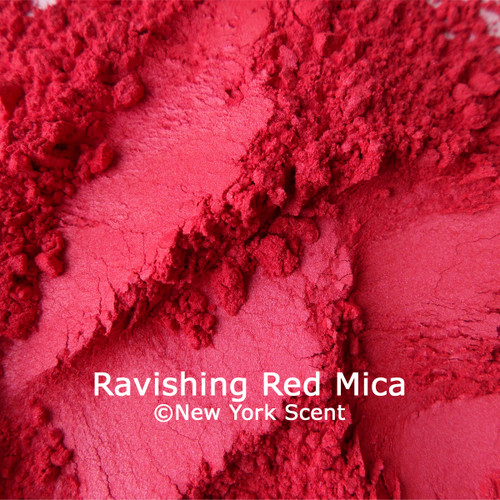 Ravishing Red Mica Powder Colorant from New York Scent