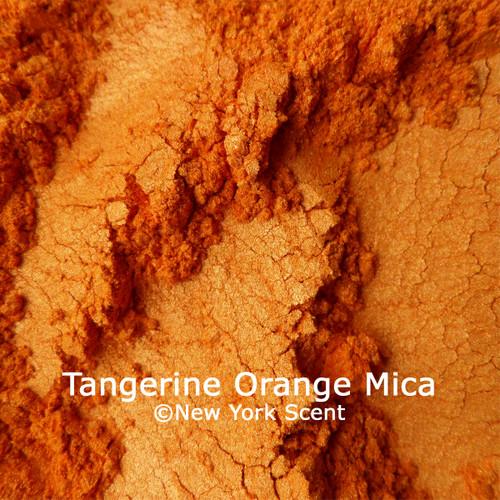 Tangerine Orange Mica Powder from New York Scent