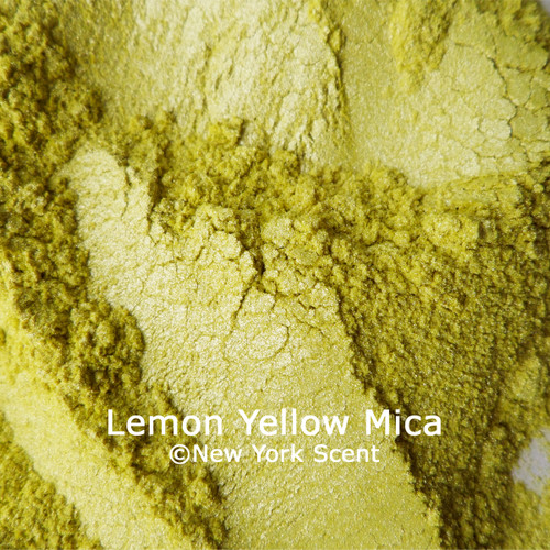 Lemon Yellow Mica Powder from New York Scent