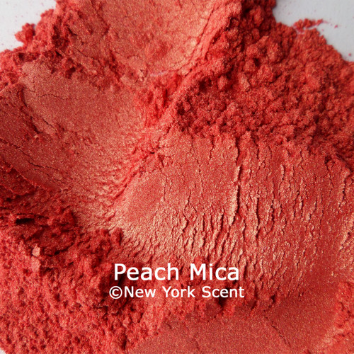 Peach Mica Powder from New York Scent (2)