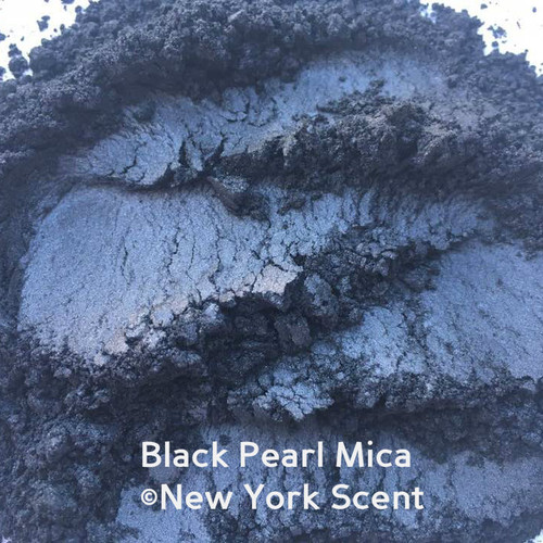 Black Pearl Mica Powder - Soap & Cosmetic Colorant from New York Scent